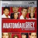 Videojuegos y Consolas: ANATOMÍA DE GREY, EL VIDEOJUEGO - CODEGAME - JUEGO PC (PRECINTADO). Lote 28707479
