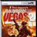 Videojuegos y Consolas: TOM CLANCY'S RAINBOW SIX VEGAS 2 - CODEGAME - JUEGO PC TOTALMENTE EN CASTELLANO (PRECINTADO). Lote 31000407
