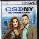Videojuegos y Consolas: CSI: NY, EL VIDEOJUEGO - CODEGAME - JUEGO PC (PRECINTADO). Lote 31000414
