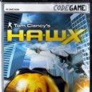 Videojuegos y Consolas: TOM CLANCY'S H.A.W.X. - CODEGAME - JUEGO PC TOTALMENTE EN CASTELLANO (PRECINTADO). Lote 28721189
