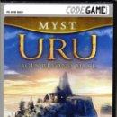 Videojuegos y Consolas: URU: AGES BEYOND MYST - CODEGAME - JUEGO PC DOBLADO AL CASTELLANO (PRECINTADO). Lote 28721287