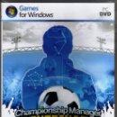 Videojuegos y Consolas: CHAMPIONSHIP MANAGER TU ENTRENADOR 2010 - JUEGO PC TOTALMENTE EN CASTELLANO (PRECINTADO). Lote 28746742