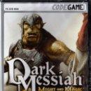 Videojuegos y Consolas: DARK MESSIAH MIGHT AND MAGIC - JUEGO PC TOTALMENTE EN CASTELLANO (PRECINTADO). Lote 28746839