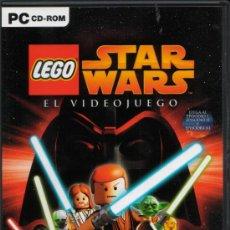 Videojuegos y Consolas: STAR WARS LEGO. EL VIDEOJUEGO PC. LA GUERRA DE LAS GALAXIAS EP. I, II Y III. Lote 28916129