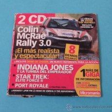 Videojuegos y Consolas: CARPETA CON DOS CD CON DEMOS, ACTUALIZACIONES, EXTRAS. MICROMANIA 101. Lote 28960777