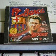 Videojuegos y Consolas: PC CD-ROM PC BARÇA. Lote 28982377