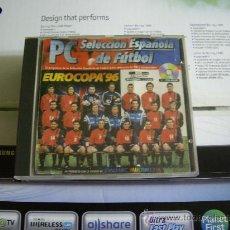 Videojuegos y Consolas: PC CD-ROM PC EUROCOPA 96 SELECCION ESPAÑOLA DE FUTBOL. Lote 28982393