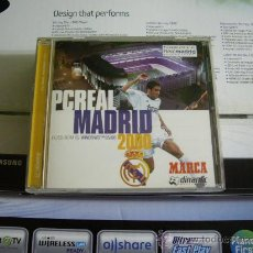 Videojuegos y Consolas: PC CD-ROM PC REAL MADRID 2000. Lote 28982446