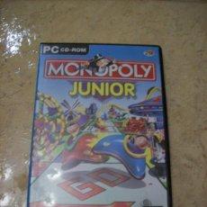 Videojuegos y Consolas: CD-ROM MONOPOLY JUNIOR - EN INGLES. Lote 29229925