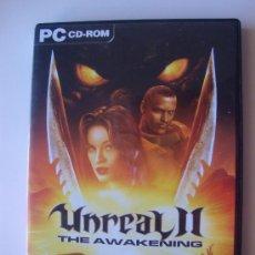 Videojuegos y Consolas: JUEGO PC UNREAL II. Lote 29235519