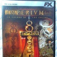 Videojuegos y Consolas: JUEGO PC: IMPERIUM, LA GUERRA DE LAS GALIAS. COMO NUEVO.. Lote 53539750