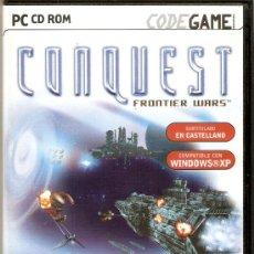 Videojuegos y Consolas: CONQUEST FRONTIER WARS - PC - UBISOFT - 2002. Lote 29425906