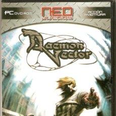 Videojuegos y Consolas: DAEMON VECTOR - PC DVD ROM - NEO JUEGOS - 2006. Lote 29426083