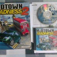 Videojuegos y Consolas: JUEGO PC MIDTOWN MADNESS 2 CAJA DURA VERSION ESPAÑOLA. Lote 191687706