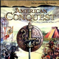 Videojuegos y Consolas: JUEGO PC: AMERICAN CONQUEST.. Lote 29843737