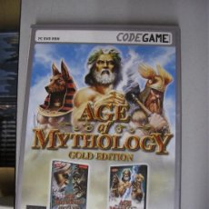 Videojuegos y Consolas: AGE OF MYTHOLOGY : GOLD EDITION - JUEGO DE PC / CODEGAME - DOBLADO AL CASTELLANO CASTELLANO. Lote 29977949