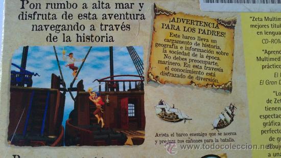 Videojuegos y Consolas: PIRATAS.MAGNIFICO Y EDUCATIVO JUEGO PARA PC.DICOVERY CHANNEL.MUY BUSCADO.ERA HE MAN.AÑOS 80 - Foto 10 - 30048878