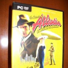 Videojuegos y Consolas: PC DVD ROM - THE SECRETS OF ATLANTIS - EL LEGADO SAGRADO - AVENTURA GRAFICA - CASTELLANO- PRECINTADO. Lote 30385727
