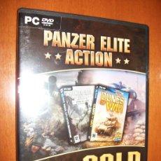 Videojuegos y Consolas: PC DVD ROM - PANZER ELITE ACTION + EXPANSION DUNES OF WAR - CASTELLANO - PRECINTADO. Lote 30385809