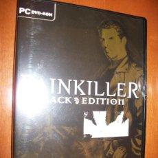 Videojuegos y Consolas: PC DVD ROM - PAINKILLER - BLACK EDITION + EXPANSION BATTLE OUT OF HELL - CASTELLANO - PRECINTADO. Lote 30385849