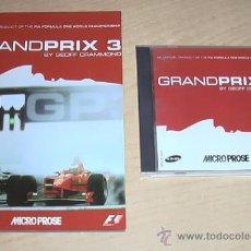 Videojuegos y Consolas: JUEGO DE PC. GRANDPRIX 3.. Lote 30501466
