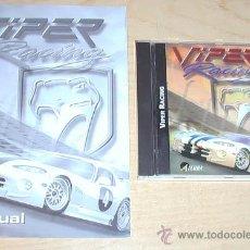 Videojuegos y Consolas: JUEGO DE PC. VIPER RACING.. Lote 30527268