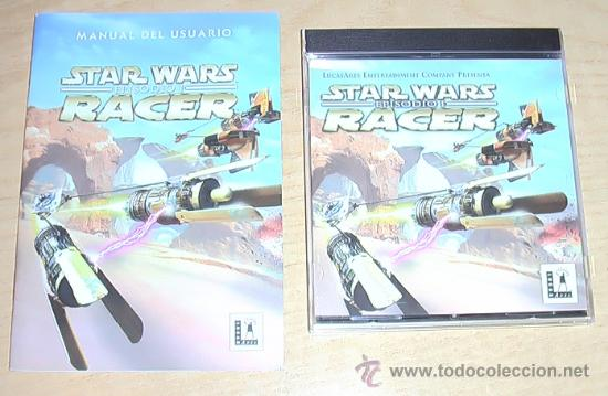 JUEGO DE PC. STARWARS EPISODIO I RACER. (Juguetes - Videojuegos y Consolas - PC)
