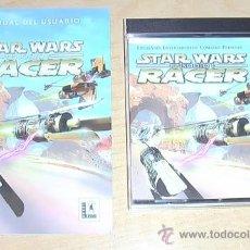 Videojuegos y Consolas: JUEGO DE PC. STARWARS EPISODIO I RACER.. Lote 30527351