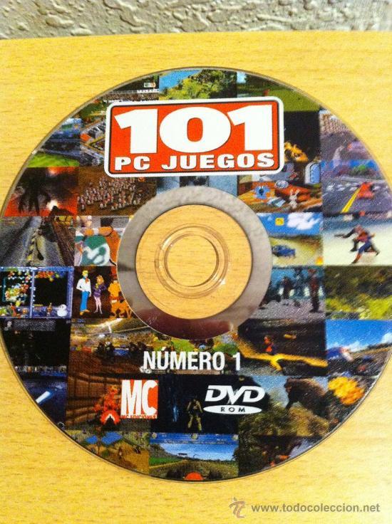 DVDROM 101 PC JUEGOS NÚMERO 1 - 101 DVDROM PC GAMES # 1 (Juguetes - Videojuegos y Consolas - PC)