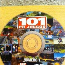 Videojuegos y Consolas: DVDROM 101 PC JUEGOS NÚMERO 1 - 101 DVDROM PC GAMES # 1. Lote 30573070