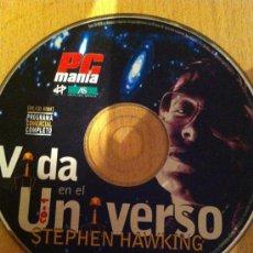 Videojuegos y Consolas: CDROM PCMANIA VIDA EN EL UNIVERSO STEPHEN HAWKING. Lote 219345512
