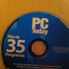 Videojuegos y Consolas: CDROM PC TODAY MÁS DE 35 PROGRAMAS - PC CDROM TODAY MORE THAN 35 PROGRAMS. Lote 30574531