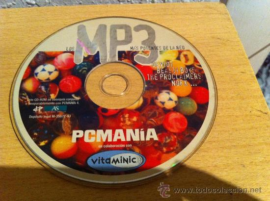 CDROM PCMANIA LOS MP3 MÁS POTENTES DE LA RED (Juguetes - Videojuegos y Consolas - PC)