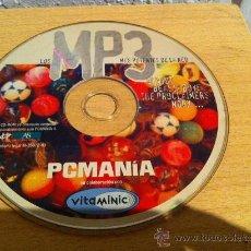 Videojuegos y Consolas: CDROM PCMANIA LOS MP3 MÁS POTENTES DE LA RED. Lote 30574546