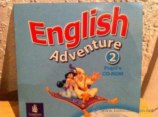 CDROM INGLES ENGLISH ADVENTURE 2 PUPILS (Juguetes - Videojuegos y Consolas - PC)