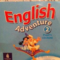 Videojuegos y Consolas: CDROM INGLES ENGLISH ADVENTURE 2 PUPILS. Lote 43426369