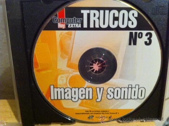 CDROM COMPUTER HOY EXTRA TRUCOS NÚMERO 3 IMAGEN Y SONIDO (Juguetes - Videojuegos y Consolas - PC)