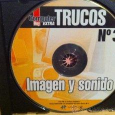 Videojuegos y Consolas: CDROM COMPUTER HOY EXTRA TRUCOS NÚMERO 3 IMAGEN Y SONIDO. Lote 30574882