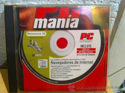CDROM PCMANIA NAVEGADORES DE INTERNET (Juguetes - Videojuegos y Consolas - PC)