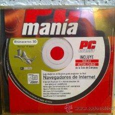 Videojuegos y Consolas: CDROM PCMANIA NAVEGADORES DE INTERNET. Lote 30574955