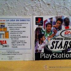 Videojuegos y Consolas: PORTADA JUEGO CDROM PLAYSTATION PRIMERA DIVISIÓN STARS. Lote 219345511