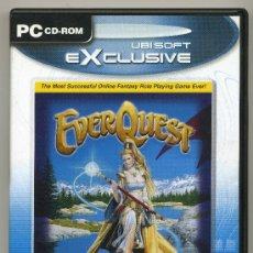 Videojuegos y Consolas: EVER QUEST - VIDEO JUEGO PC CD-ROM . Lote 30636822