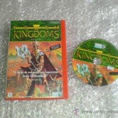 Videojuegos y Consolas: JUEGO DE PC, ORDENADOR SEVEN KINGDOMS. Lote 31036411
