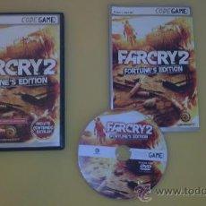 Videojuegos y Consolas: JUEGO DE PC, ORDENADOR FARCRY 2 FORTUNE´S EDITION. Lote 31037480