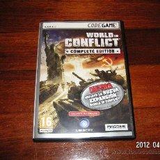 Videojuegos y Consolas: WORLD IN CONFLICT - COMPLETE EDITION. Lote 31134126