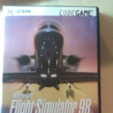 Videojuegos y Consolas: FLIGHT SIMULATOR 98 / JUEGO ORIGINAL PC / MANUAL EN CASTELLANO /. Lote 31152418