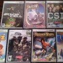 Videojuegos y Consolas: LOTE 7 JUEGOS PC CODEGAME: PRINCE OF PERSIA, CSI, SPLINTER CELL... (CAJA ESTRECHA) (PRECINTADOS). Lote 31391419