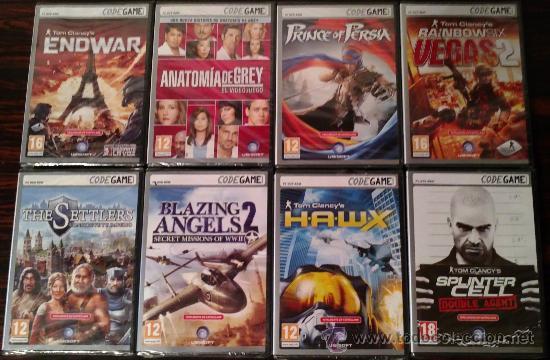 Videojuegos y Consolas: LOTE 21 JUEGOS PC CODEGAME: PERDIDOS, KING KONG, ASSASSINS CREED, BROTHERS IN ARMS... (PRECINTADOS) - Foto 2 - 31391554