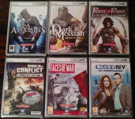 Videojuegos y Consolas: LOTE 21 JUEGOS PC CODEGAME: PERDIDOS, KING KONG, ASSASSINS CREED, BROTHERS IN ARMS... (PRECINTADOS) - Foto 3 - 31391554