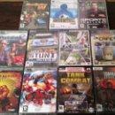 Videojuegos y Consolas: LOTE 11 JUEGOS PC: RED FACTION II, COMMANDOS STRIKE FORCE, CHAMPIONSHIP MANAGER 2010...(PRECINTADOS). Lote 31391644